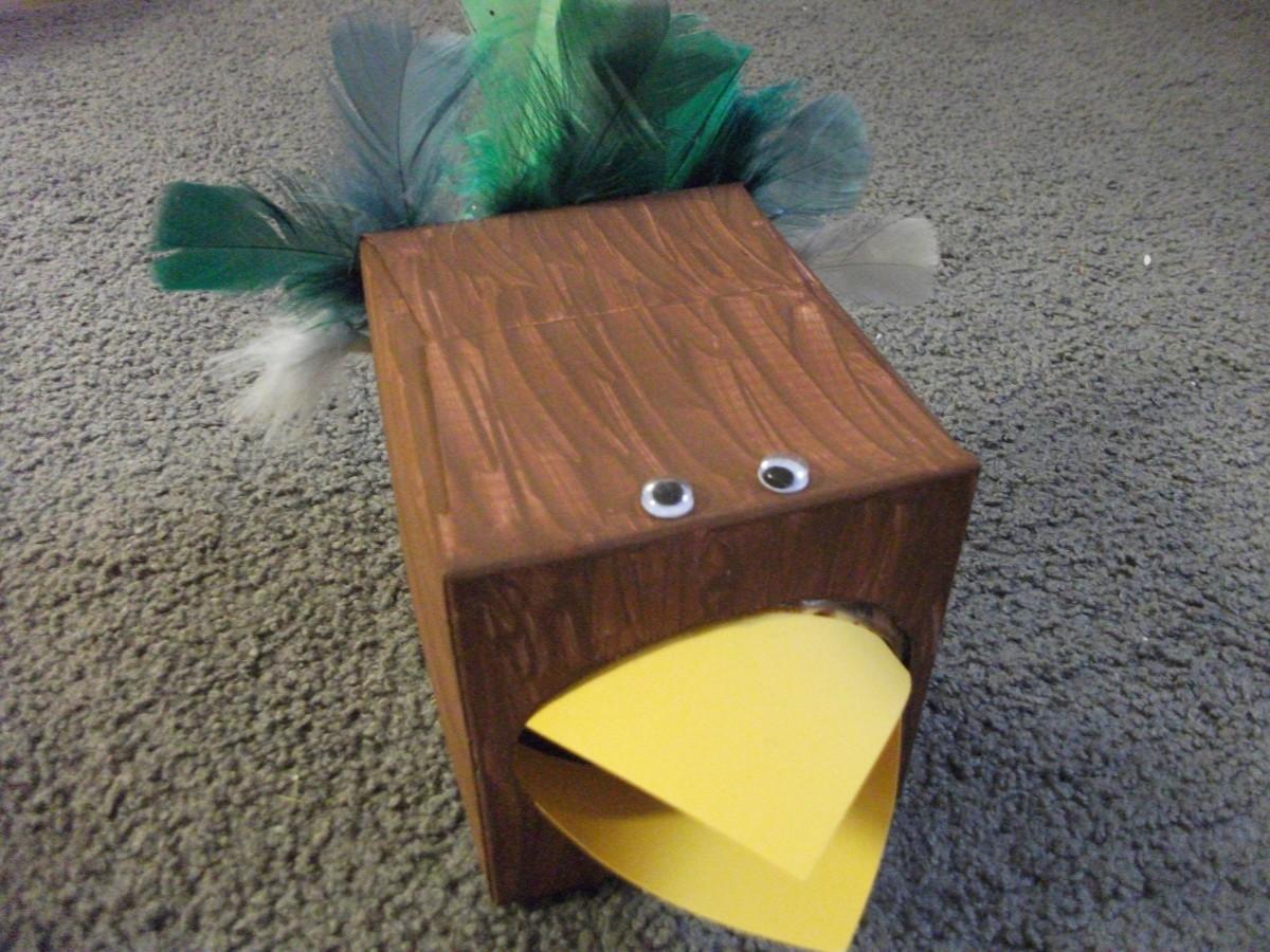 Tissue Box Turkey