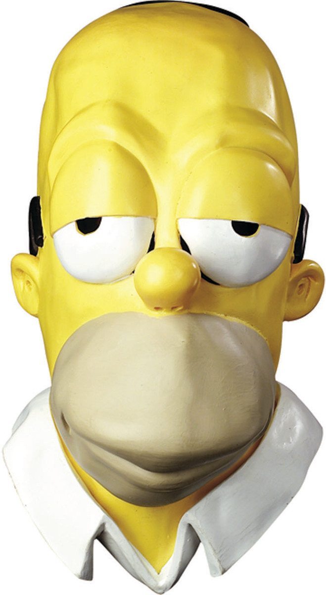 Homer Simpson Mask—Just add a white tee shirt and jeans