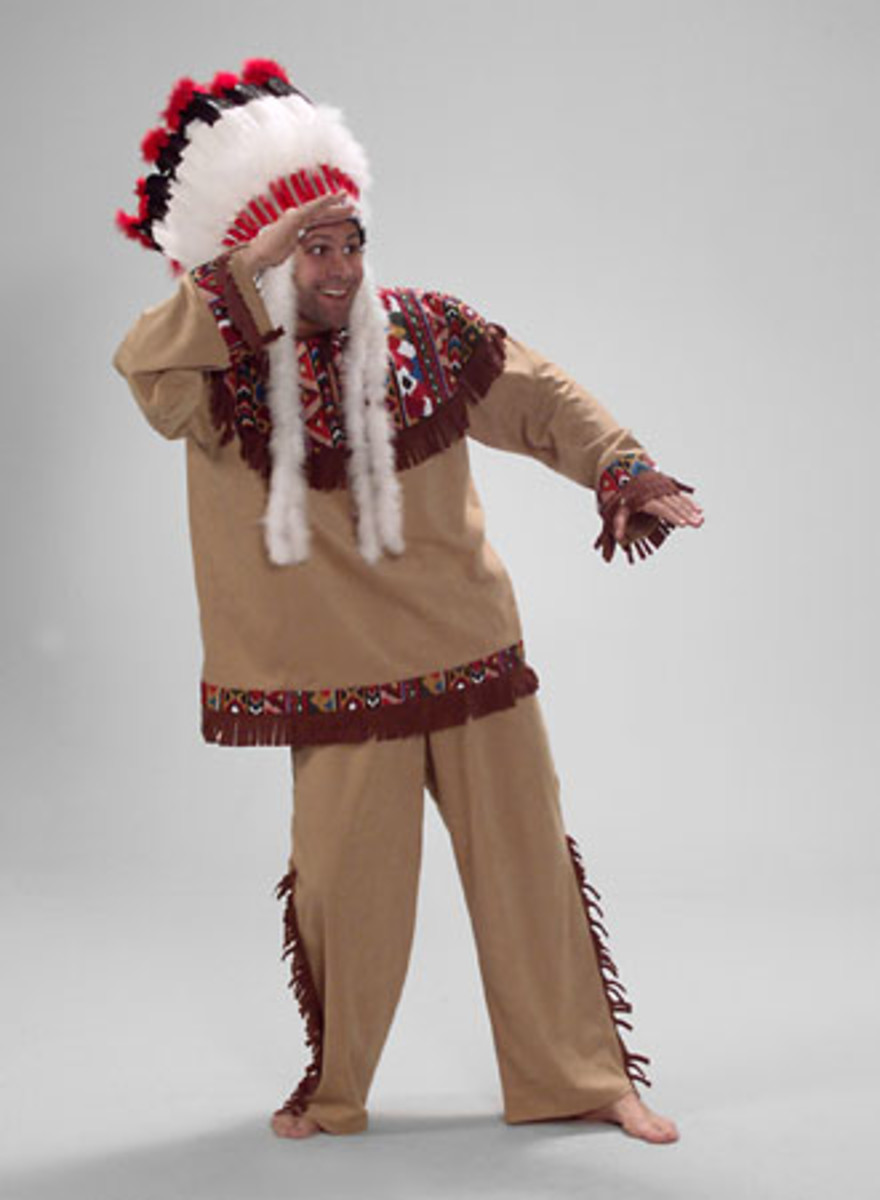 Indian costume for Hiawatha