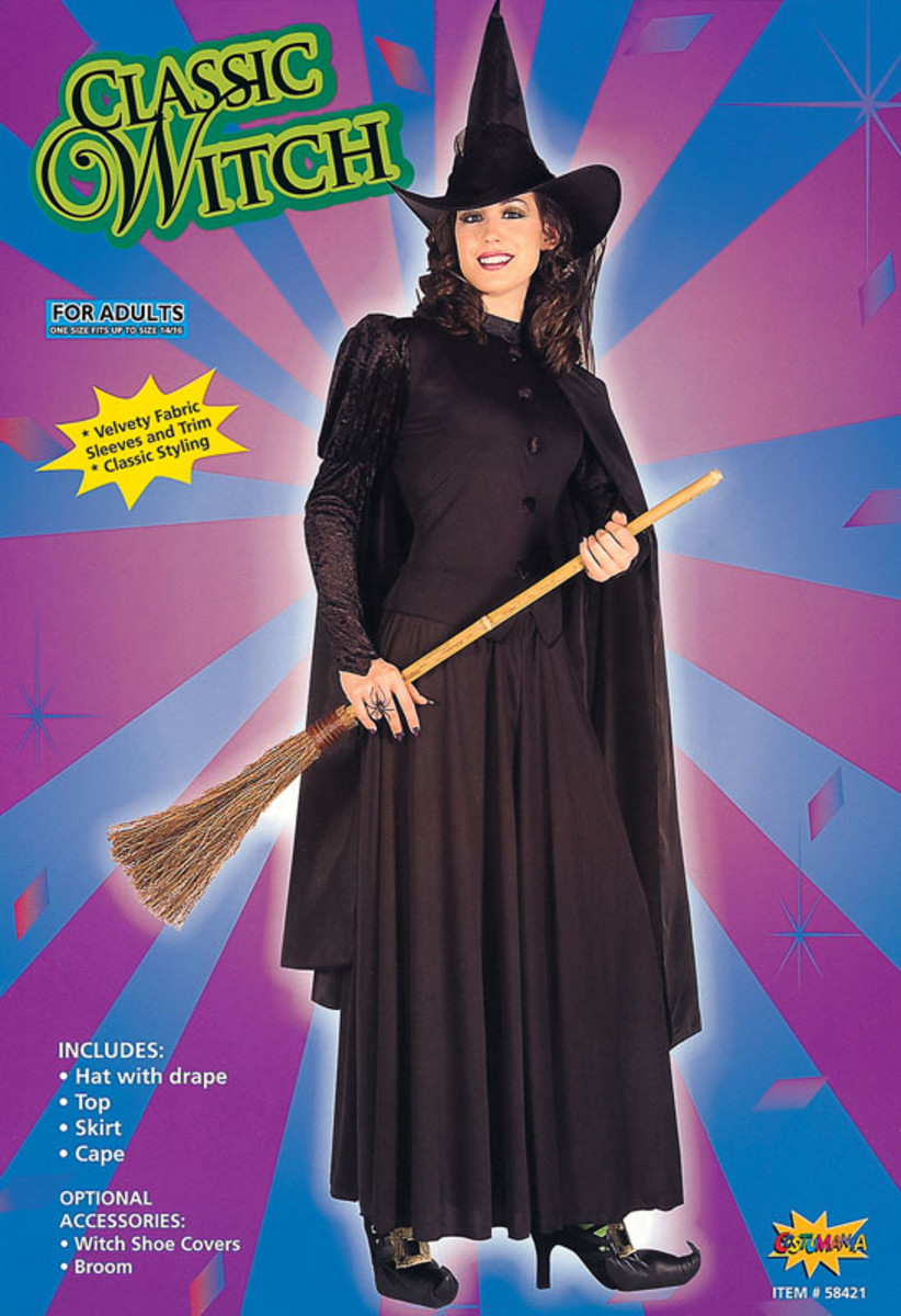 Use for The Wicked Witch of The West - Elphaba