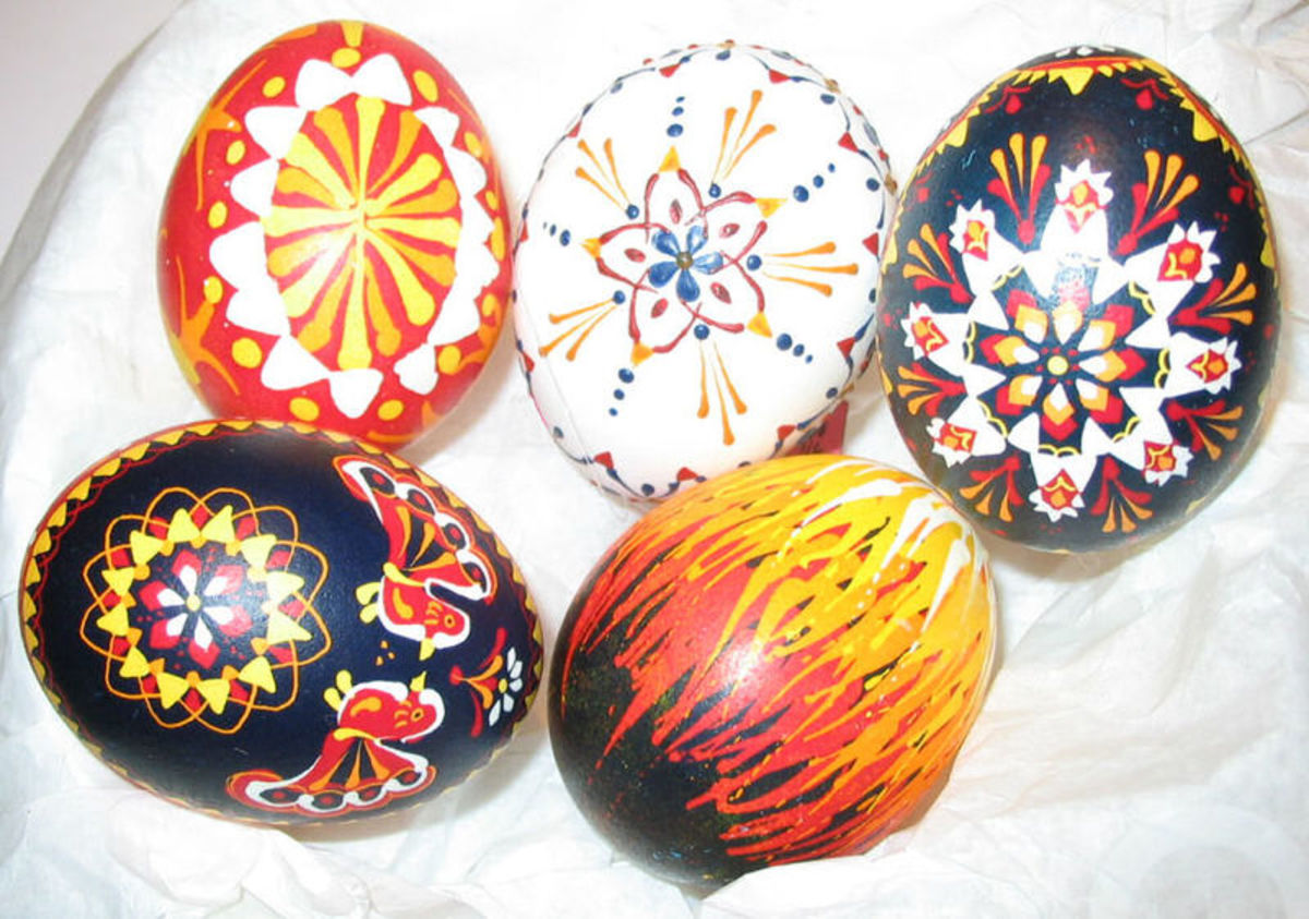 Egg-dyeing is a common practice worldwide, and several explanations for the conception of this tradition have been proposed.