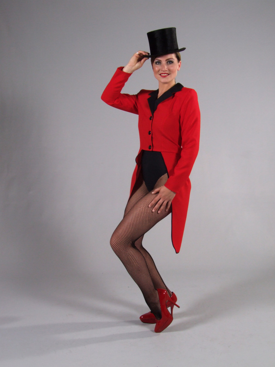 Top hat & tails - a costume suitable for both men and women