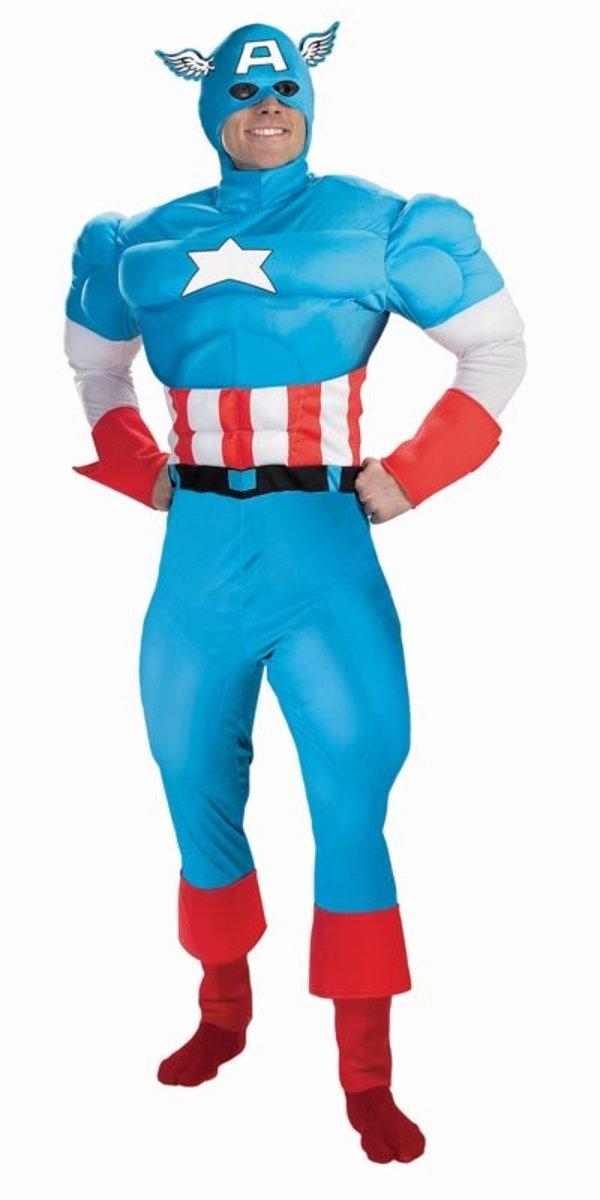 Superhero costume (Captain America)