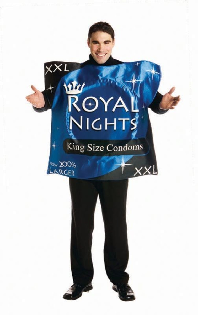 Safe Sex - Condom costume