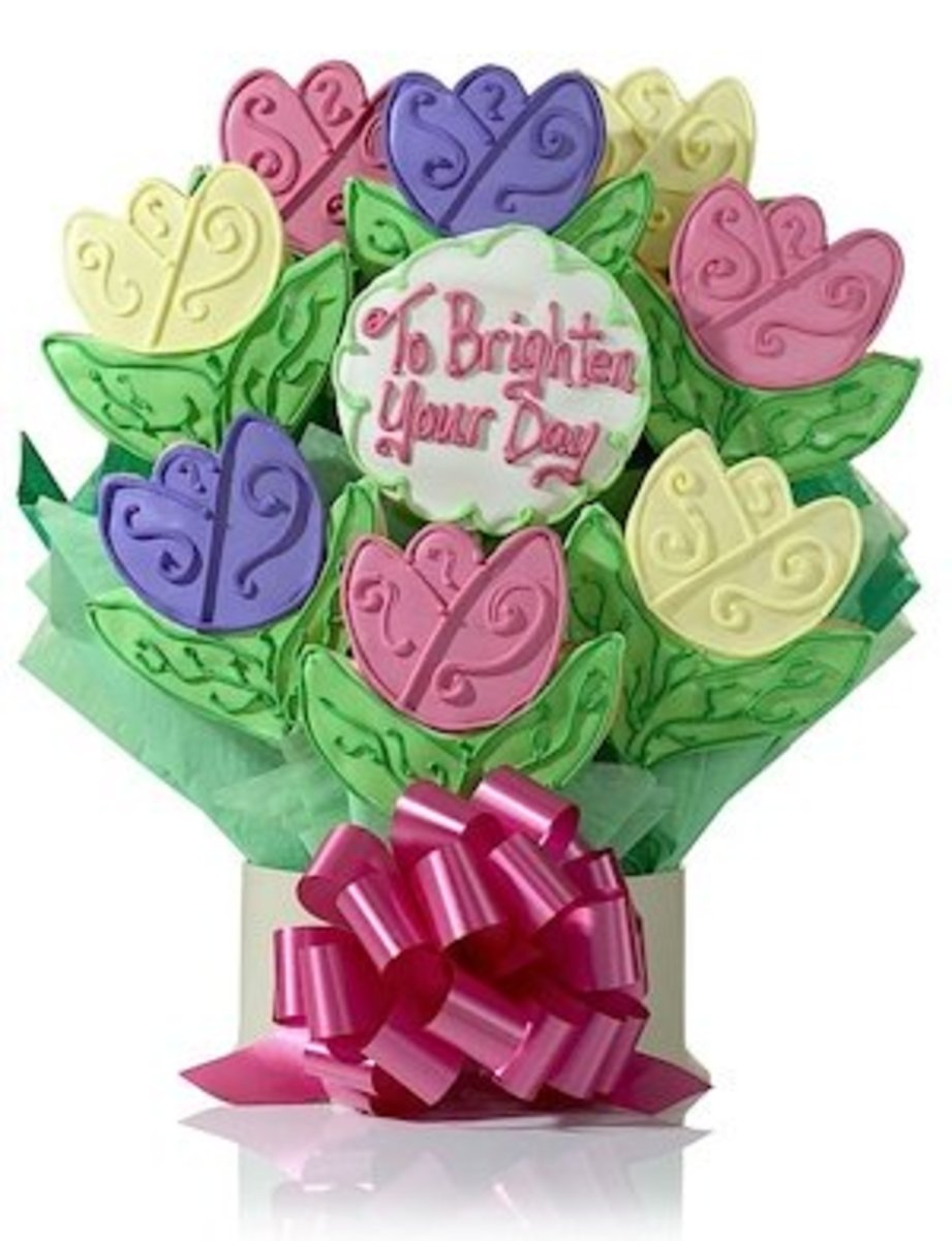 Tulip Cookies from Gourmet-Cookie-Bouquets.com