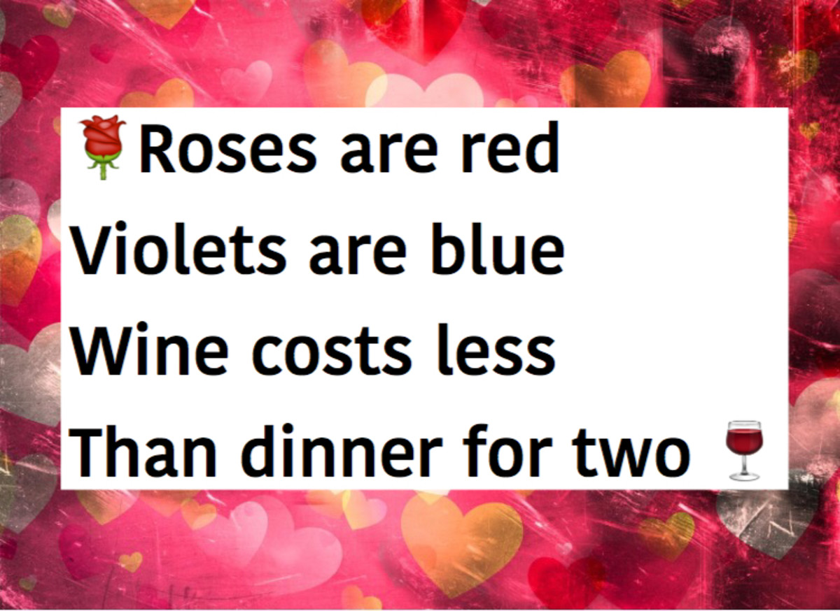 'Roses Are Red, Violets Are Blue' Quotes