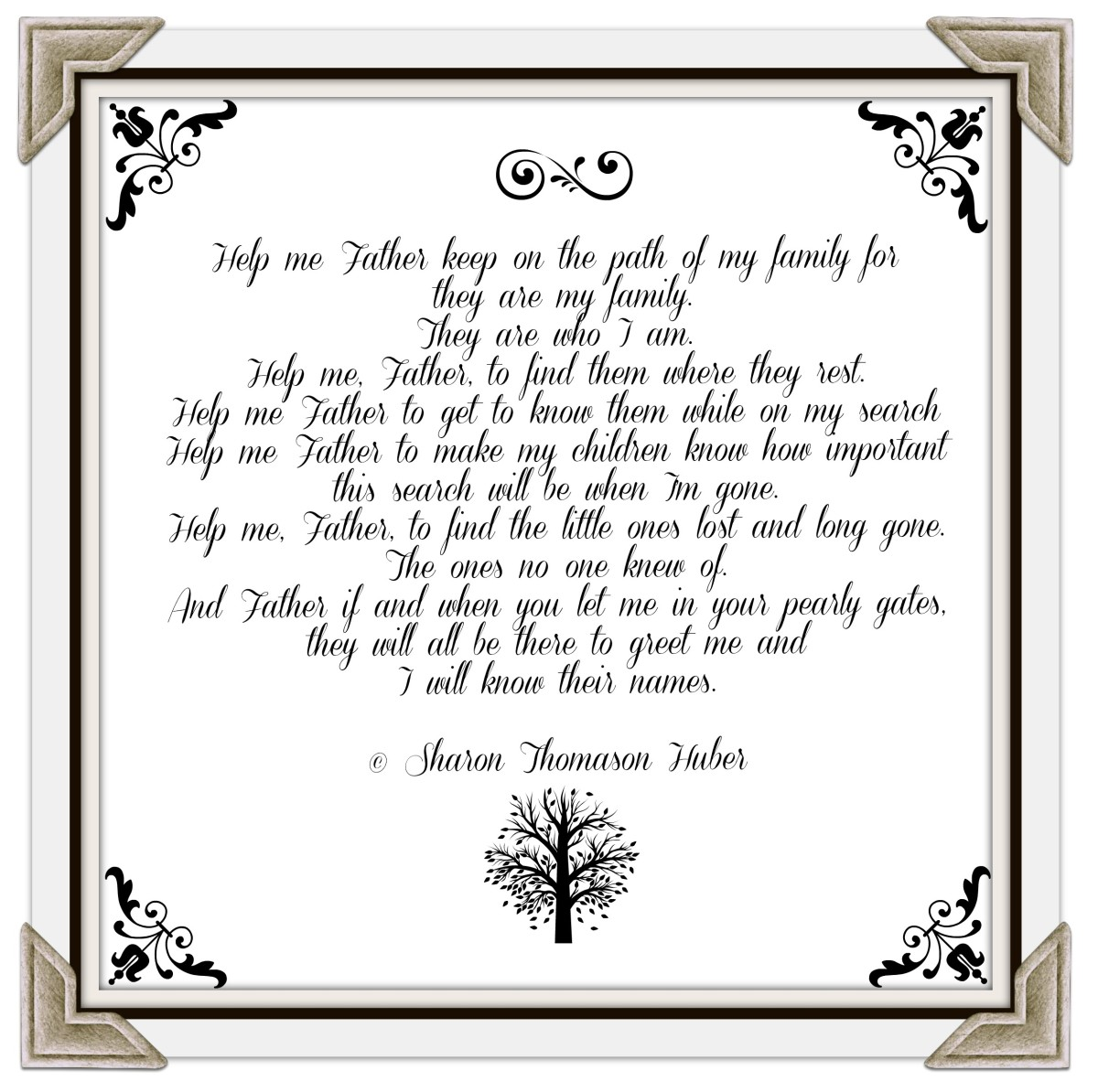 Genealogy Prayer