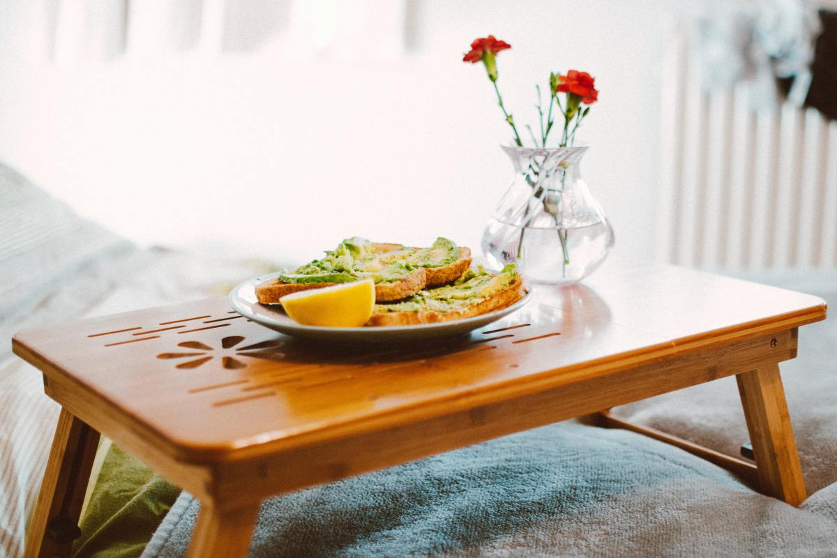 Breakfast in bed can be a sweet way to celebrate a mom's special day.