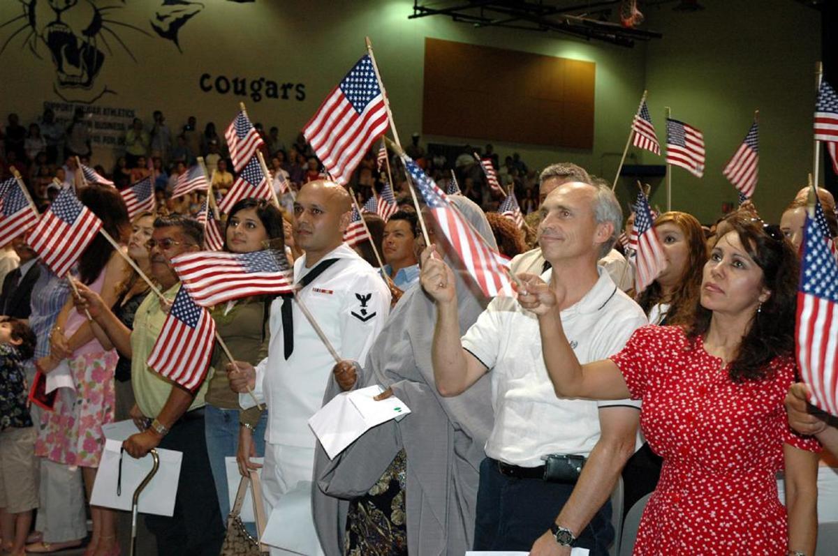 Citizenship Day - the Melting Pot