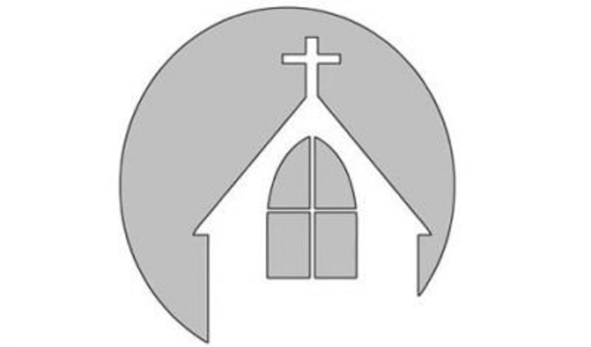 Church pumpkin stencil