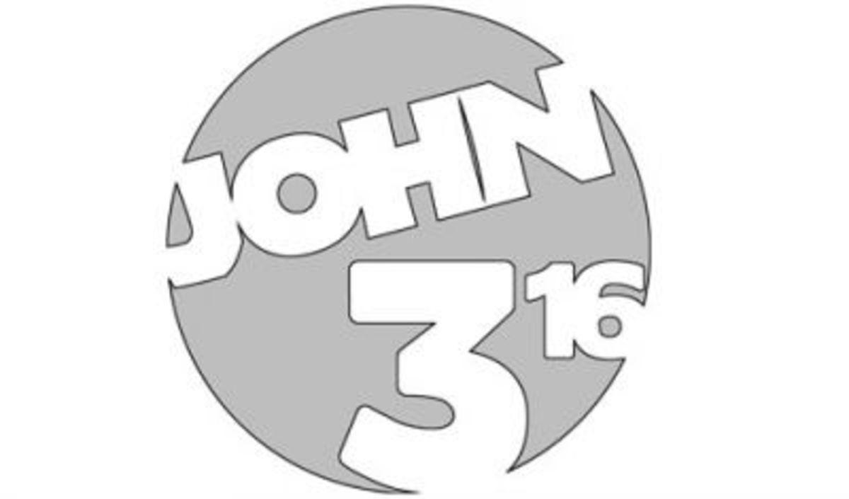 John 3:16 pumpkin stencil.