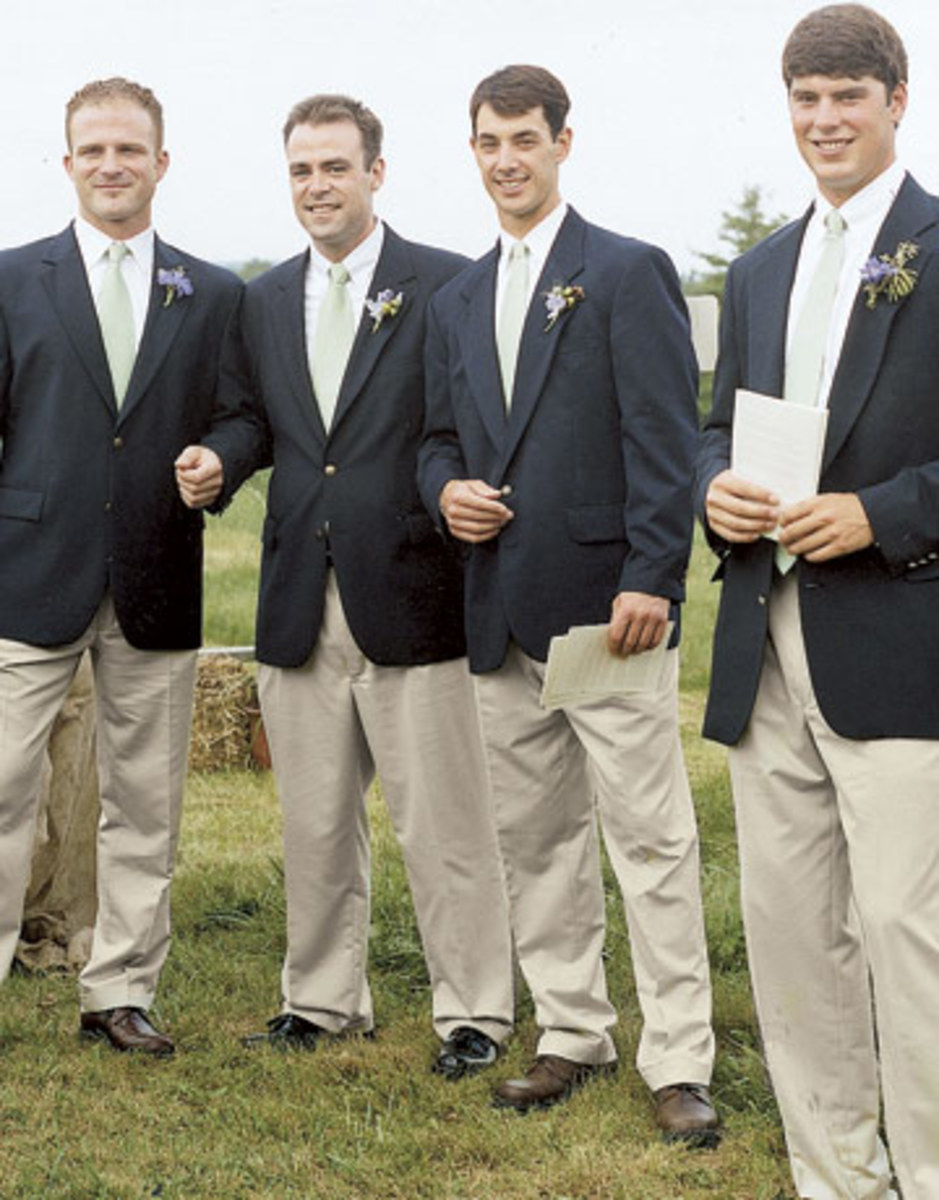 Groomsmen have a pretty easy role in a wedding. Breaking the hearts of bridesmaids is optional.