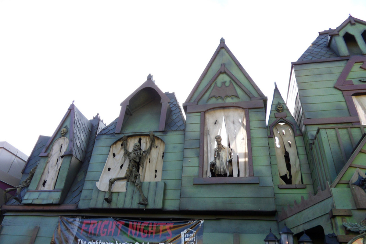 Project 41 haunted house