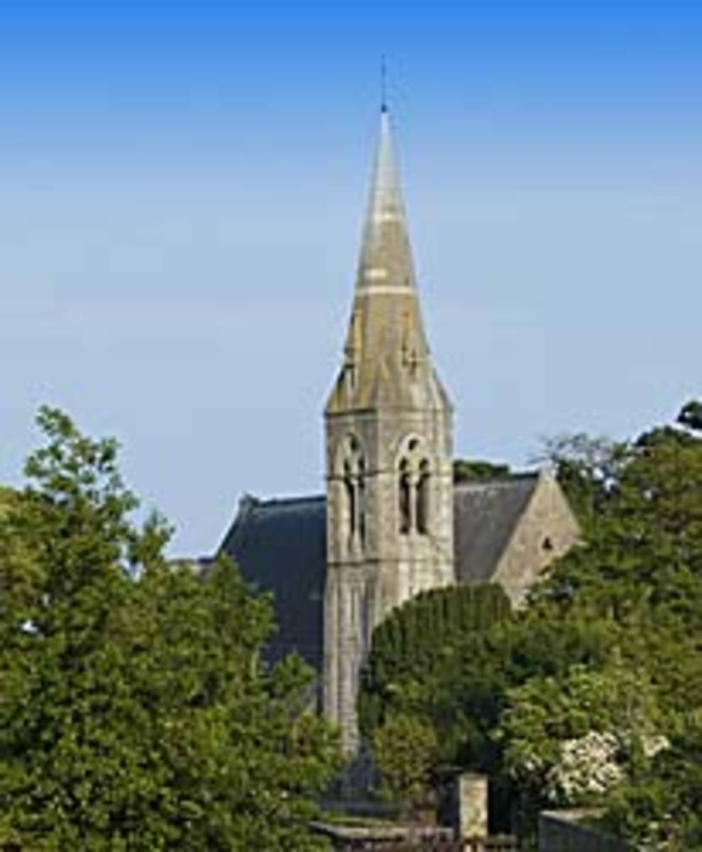 Many Irish weddings take place in churches.