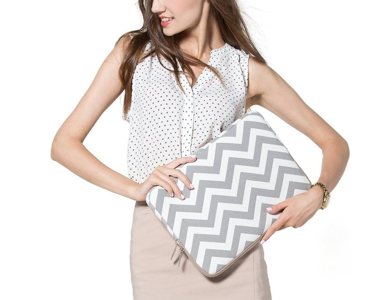 Fashionable laptop sleeves make useful birthday gifts for teenage girls.