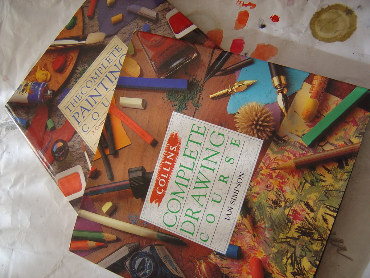 Buy a good textbook for reference. You can see examples of the author's work in these Collin's painting and drawing books by Ian Simpson