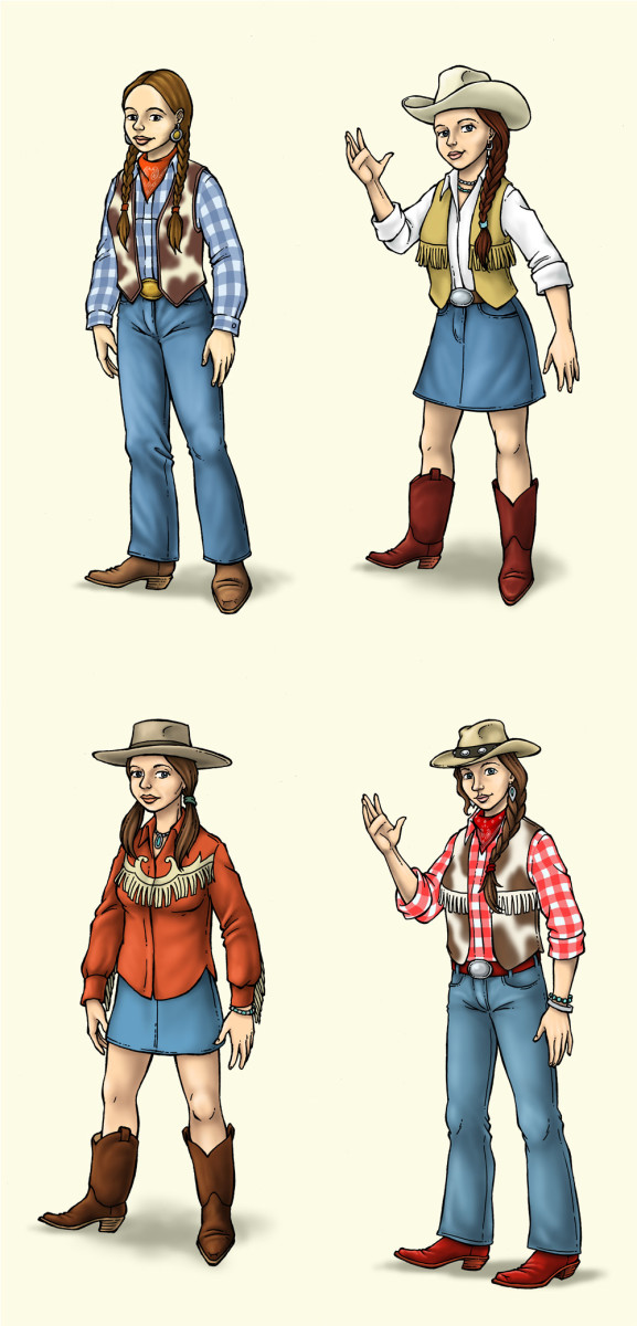 The possibilities are endless with a snazzy cowgirl outfit. Remember to have fun, get creative, and lasso up some nice treats!