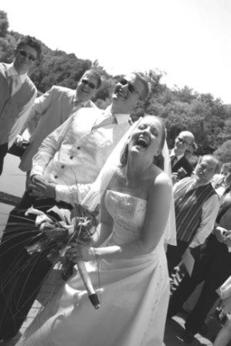 Get the bride laughing with funny marriage vows!