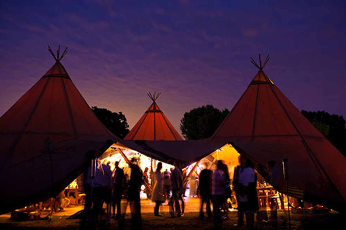 A Native American blessing is appropriate for an outdoor wedding which honors the Earth.