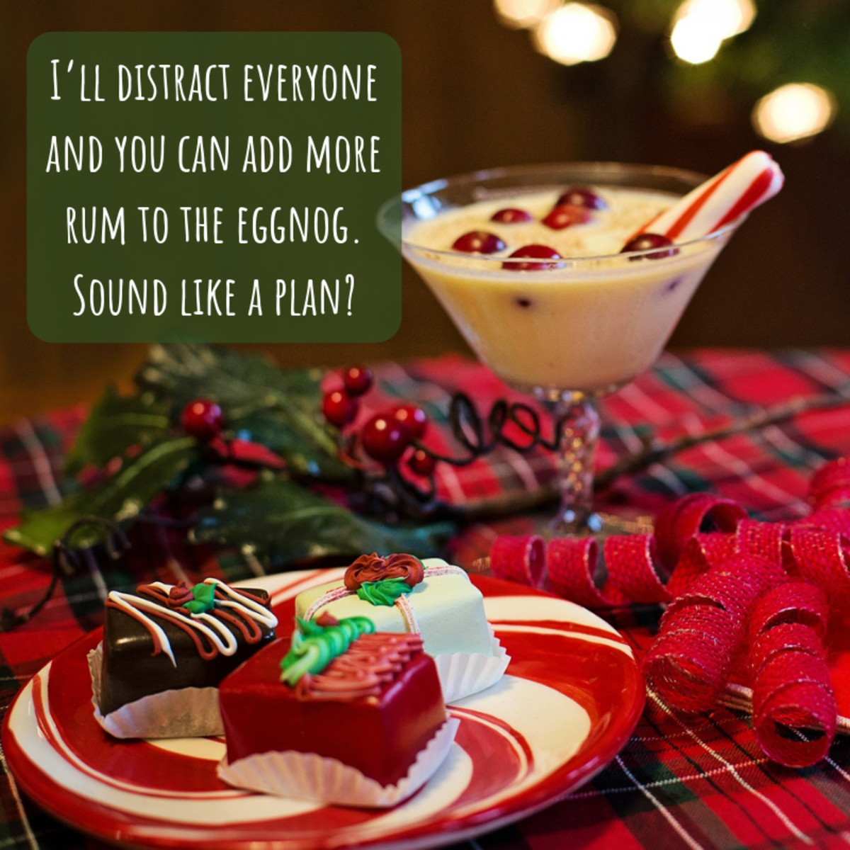 Traditional Christmas messages can be a little drab—spice yours up with some silliness.