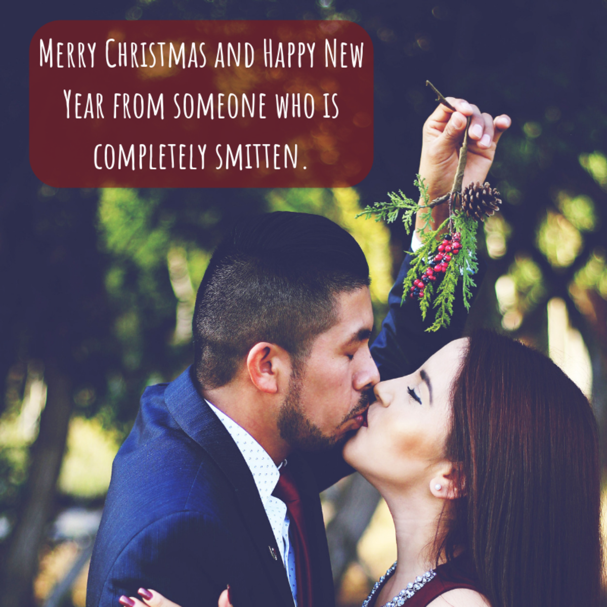 Help your significant other feel special this Christmas by writing something sweet in their card.