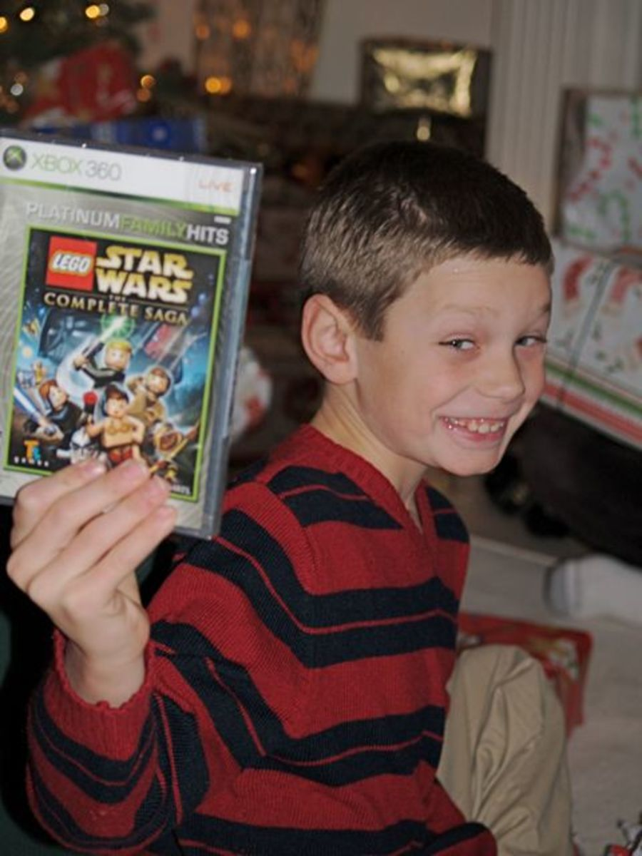 Games are a popular gift choice for boys