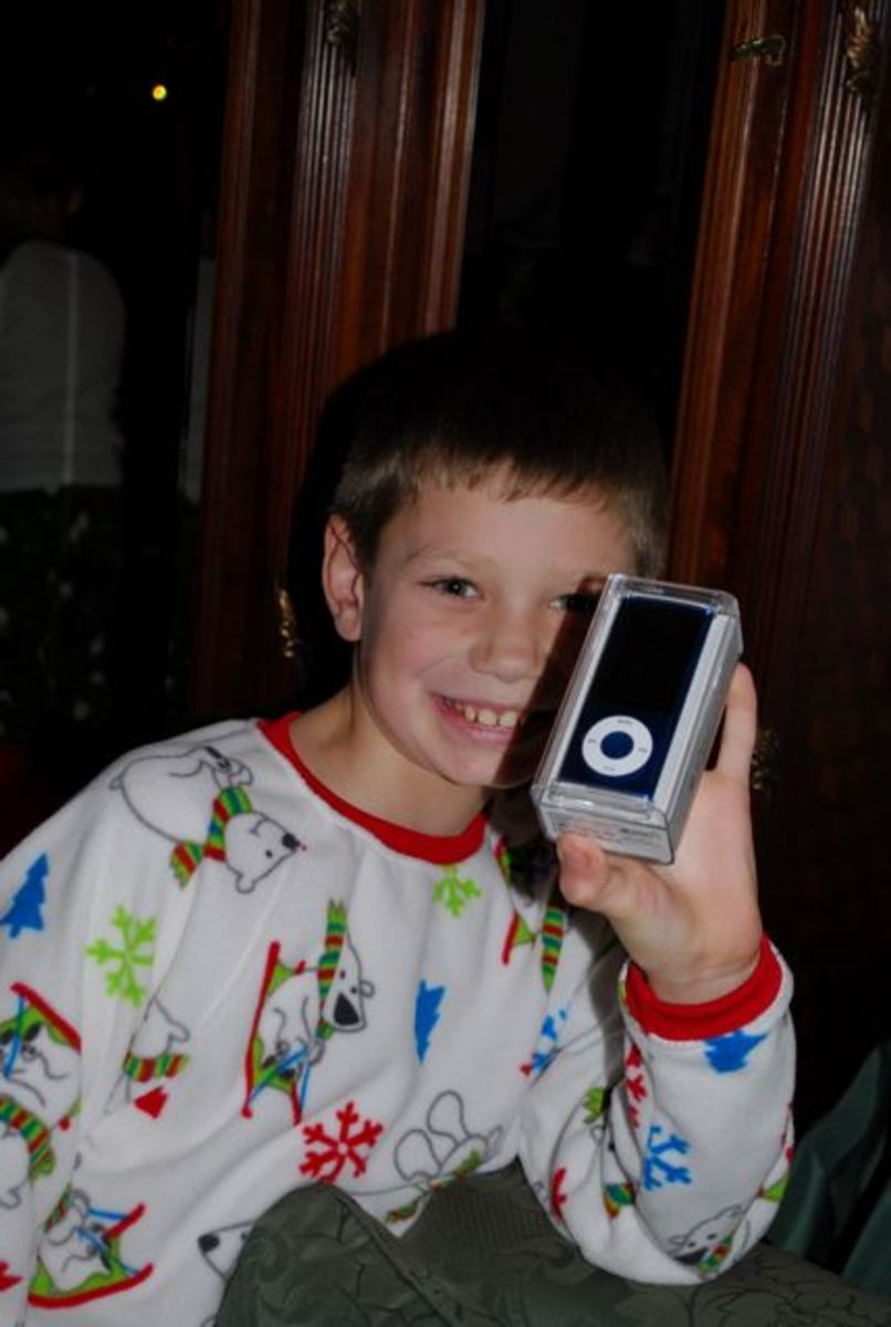 My 10-year old loves his iPod Nano!