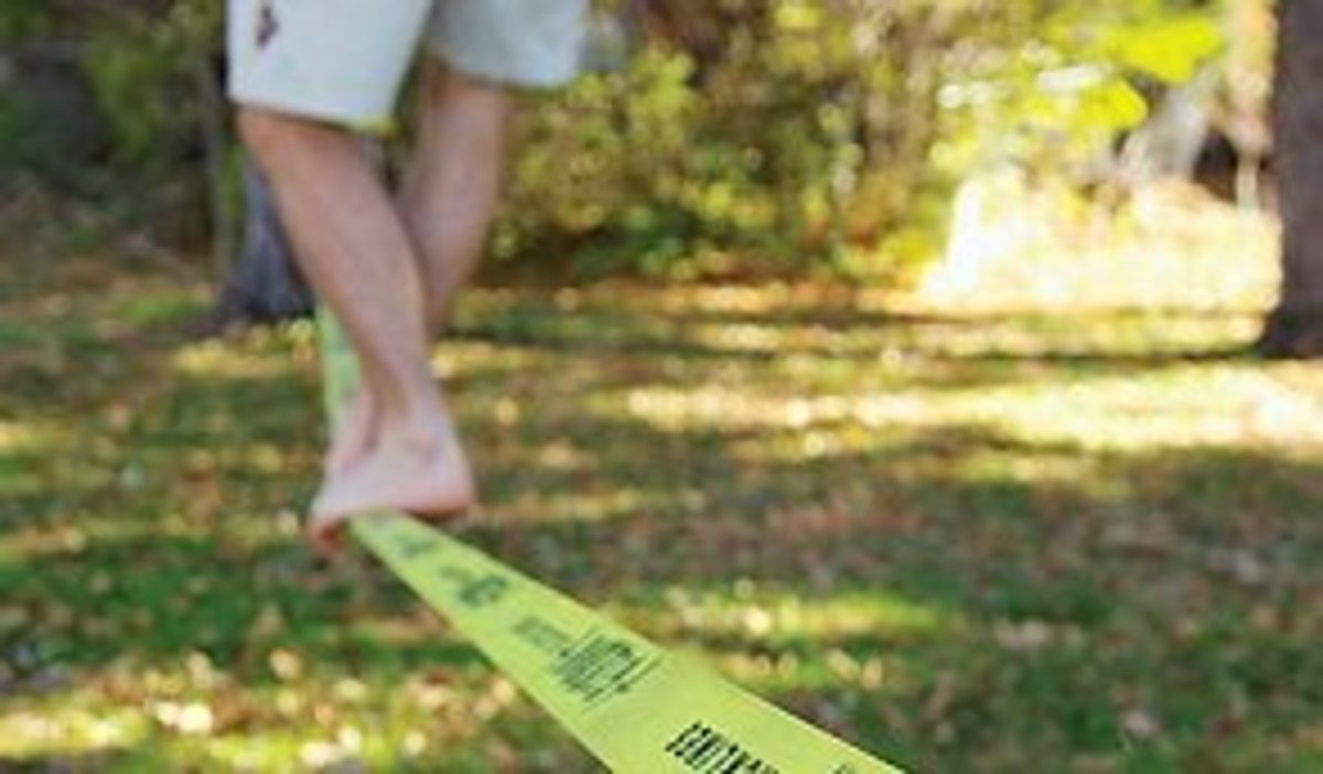 A Slackline Hours Of Fun