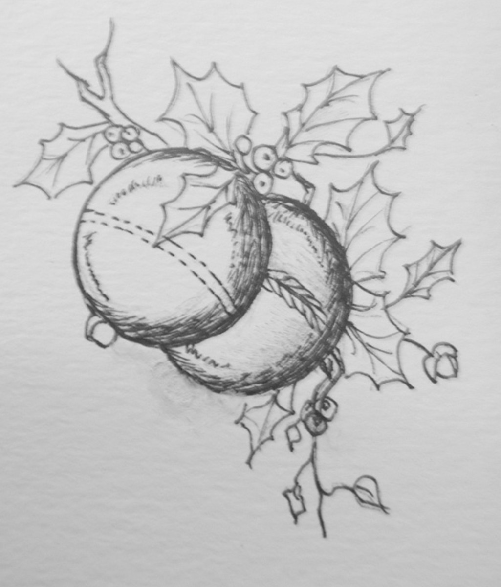 Christmas Balls Pattern - Redelf