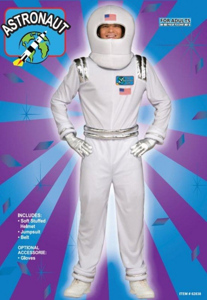 NASA astronaut costume