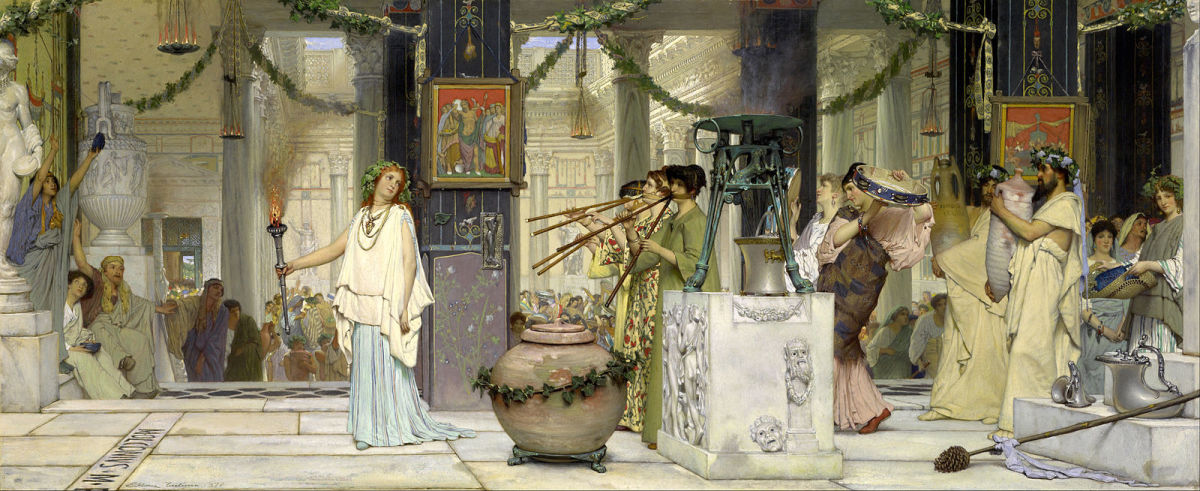 Feralia was celebrated annually by ancient Romans to honor the spirits of the dead.