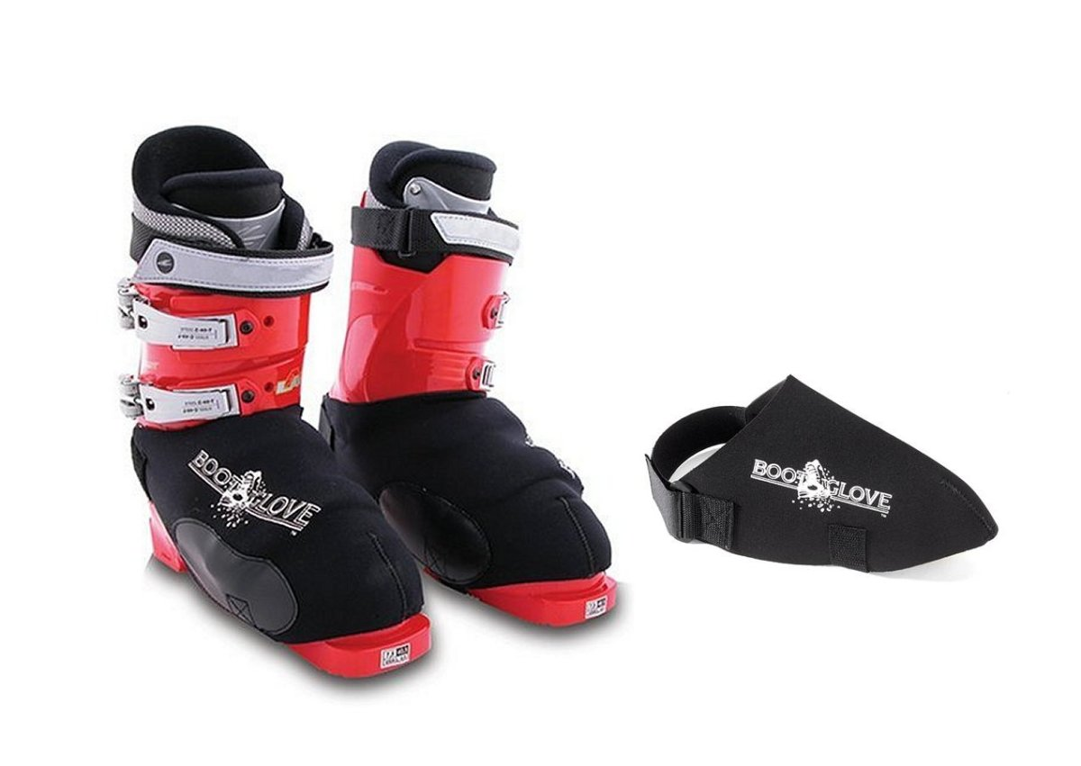 Boot Gloves block the wind from freezing the ski boots, thus keeping toes warm.