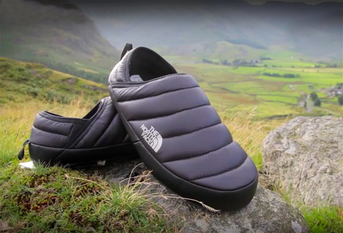 The slip-on Traction Mules are perfect for walking from the car to the ski lift, because they are waterproof, warm and comfy.