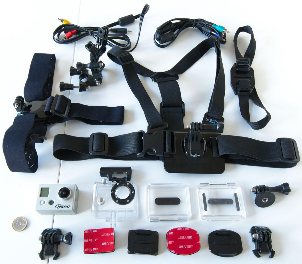 An accessory kit is a great gift for an active guy who already owns an action camera.