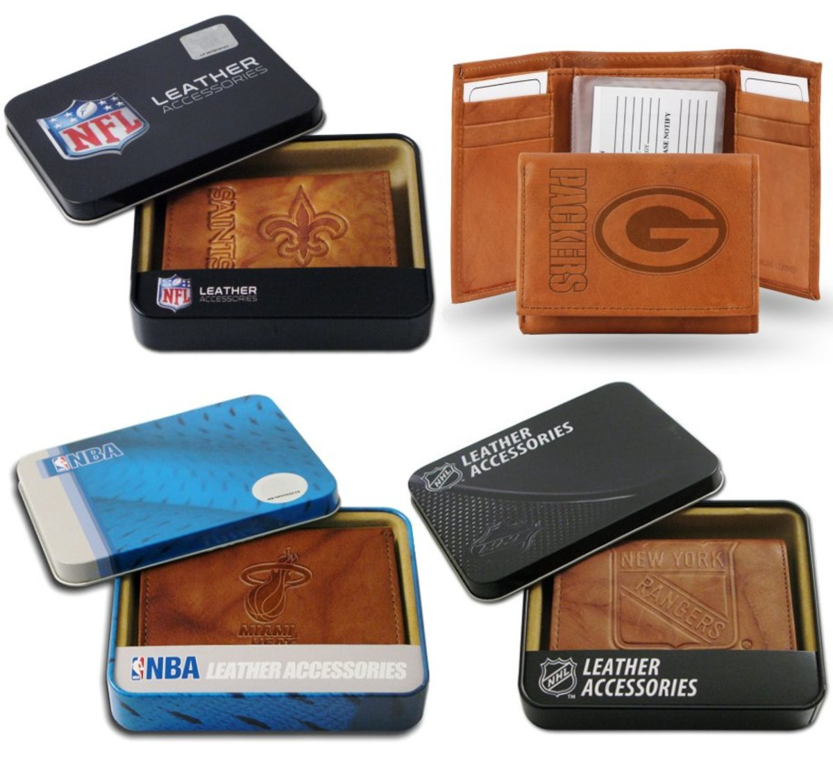 Team Logo Wallets