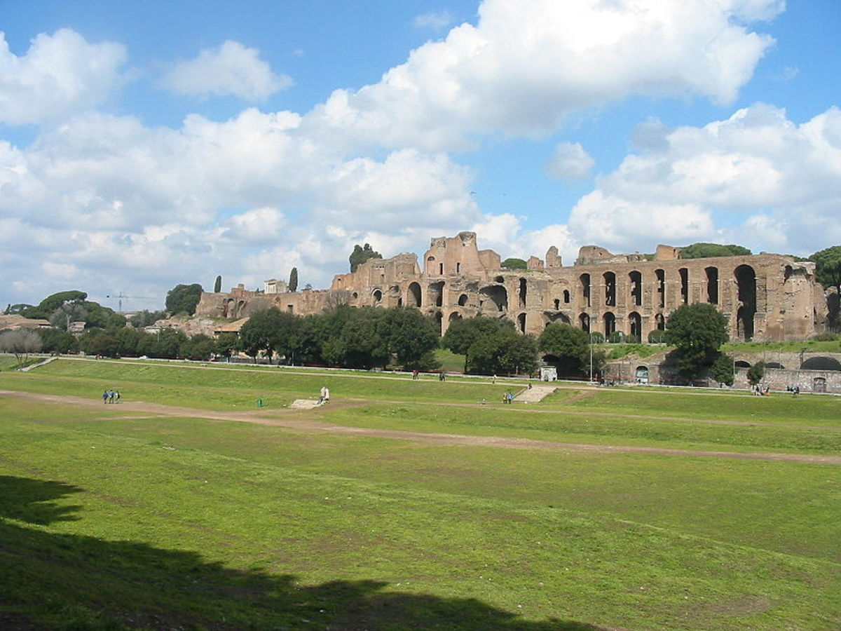 The Ludi Romani were held at the Circus Maximus and began with a grand procession involving athletes, musicians, devotees and animals, among others.