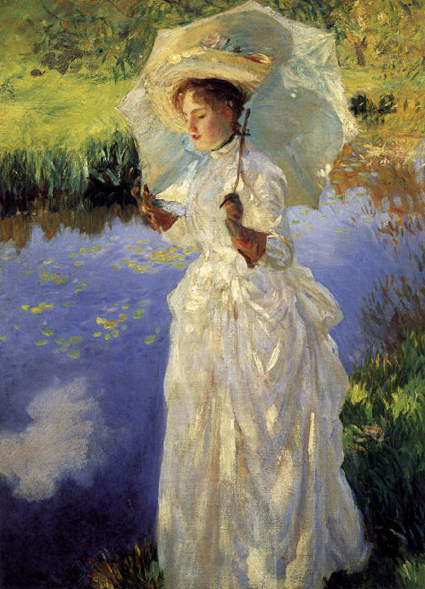 Morning Walk, 1888, by John Singer Sargent