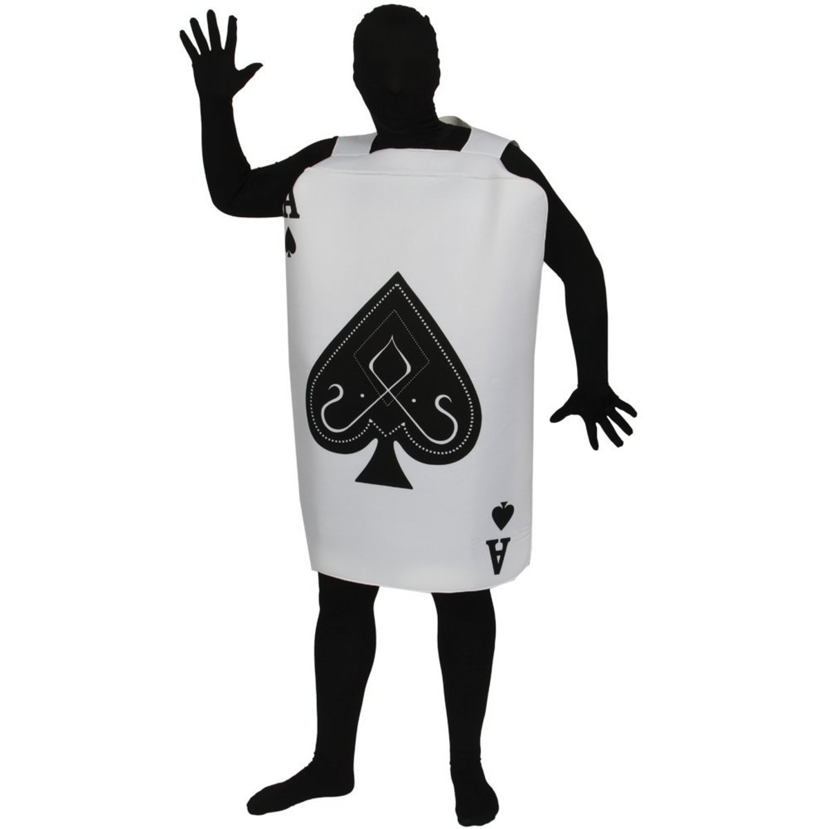 Ace of Spades card costume