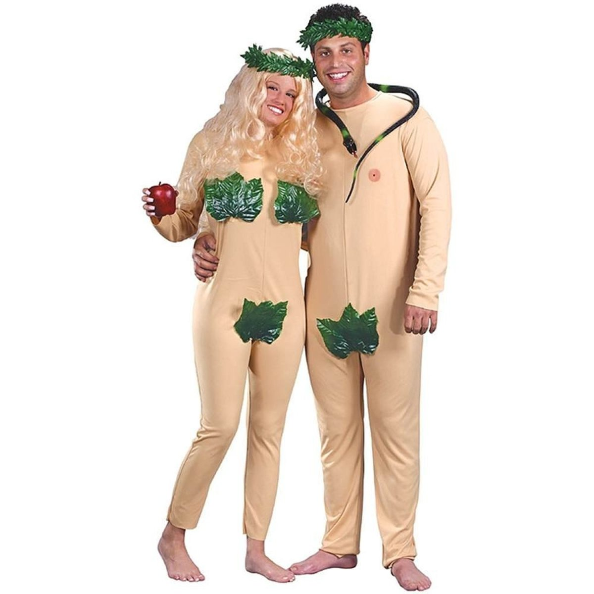 Adam and Eve costume  sc 1 st  Holidappy & Costumes for a Song Title Theme Party | Holidappy