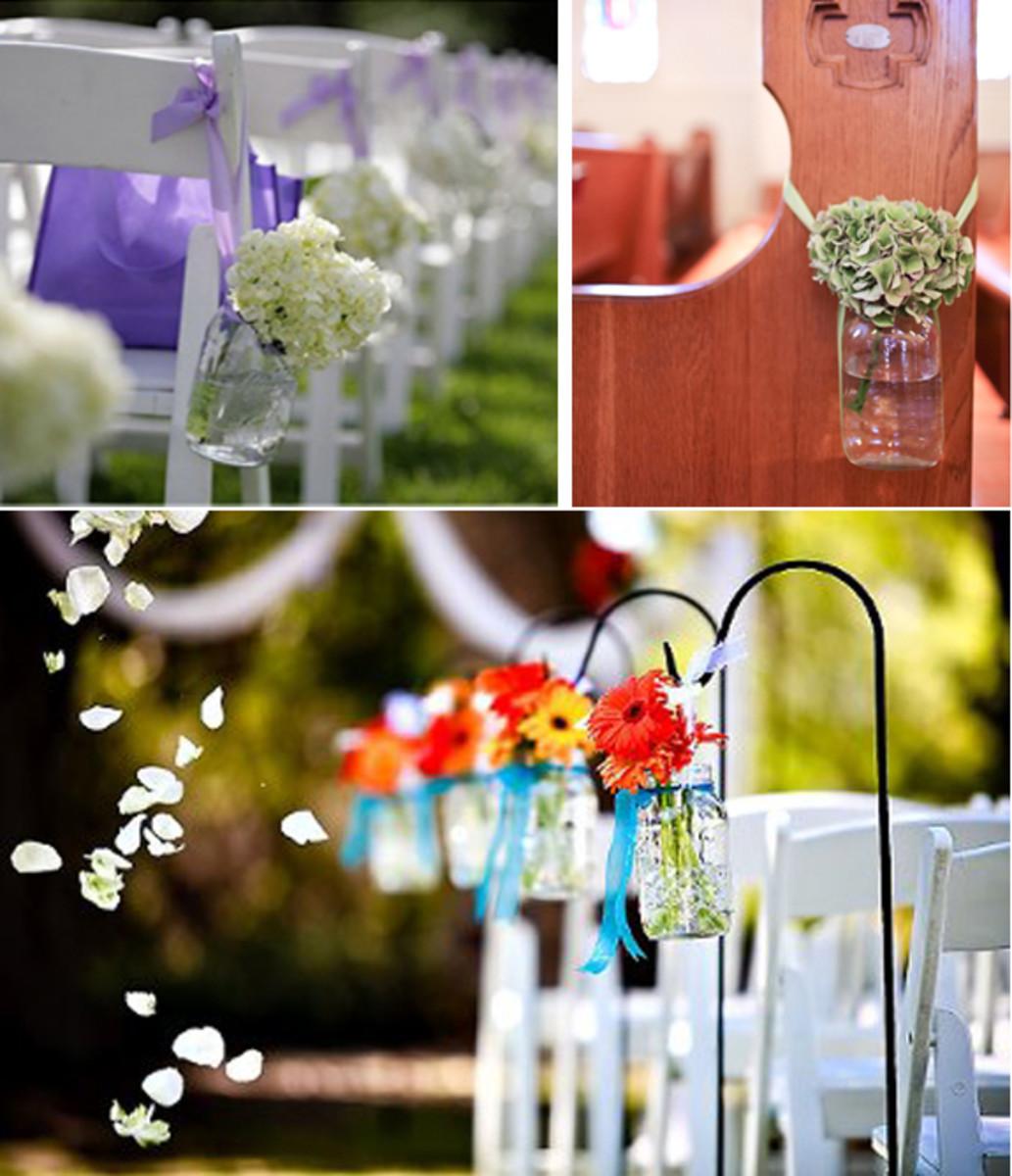 Cheap Wedding Decoration Ideas: Mason Jars For Wedding Decorations: Rustic, Beautiful