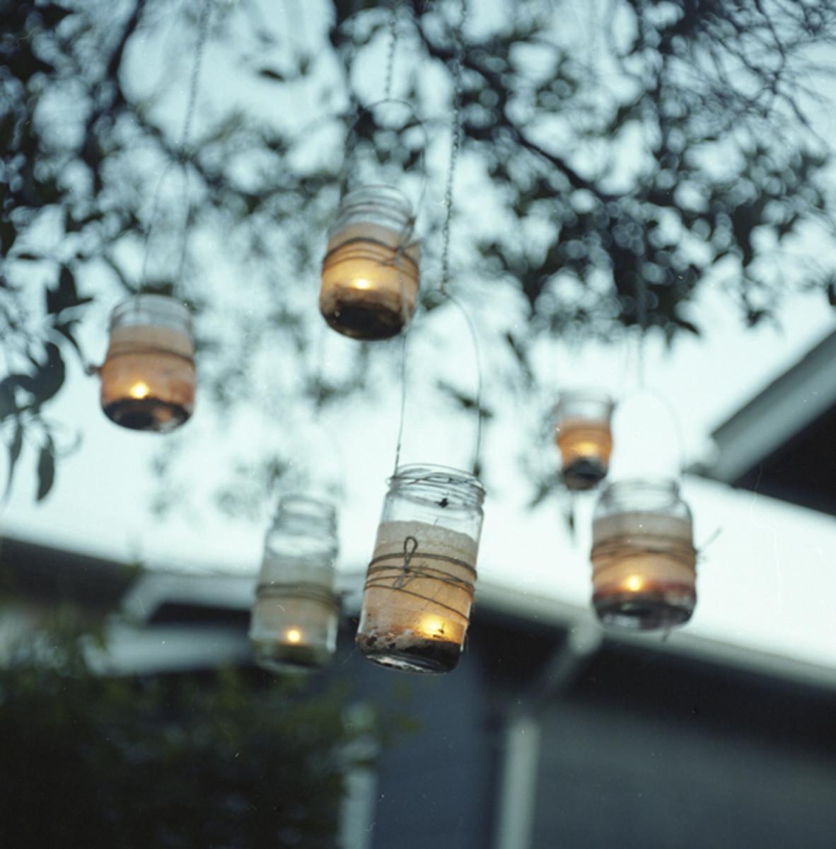 Mason Jars For Wedding Decorations Rustic Beautiful Cheap Holidappy Celebrations