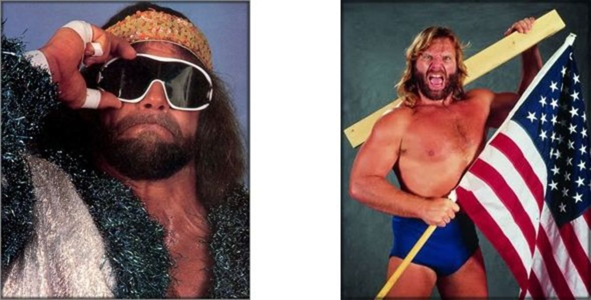 Mach Man Randy Savage & Hacksaw Jim Duggan