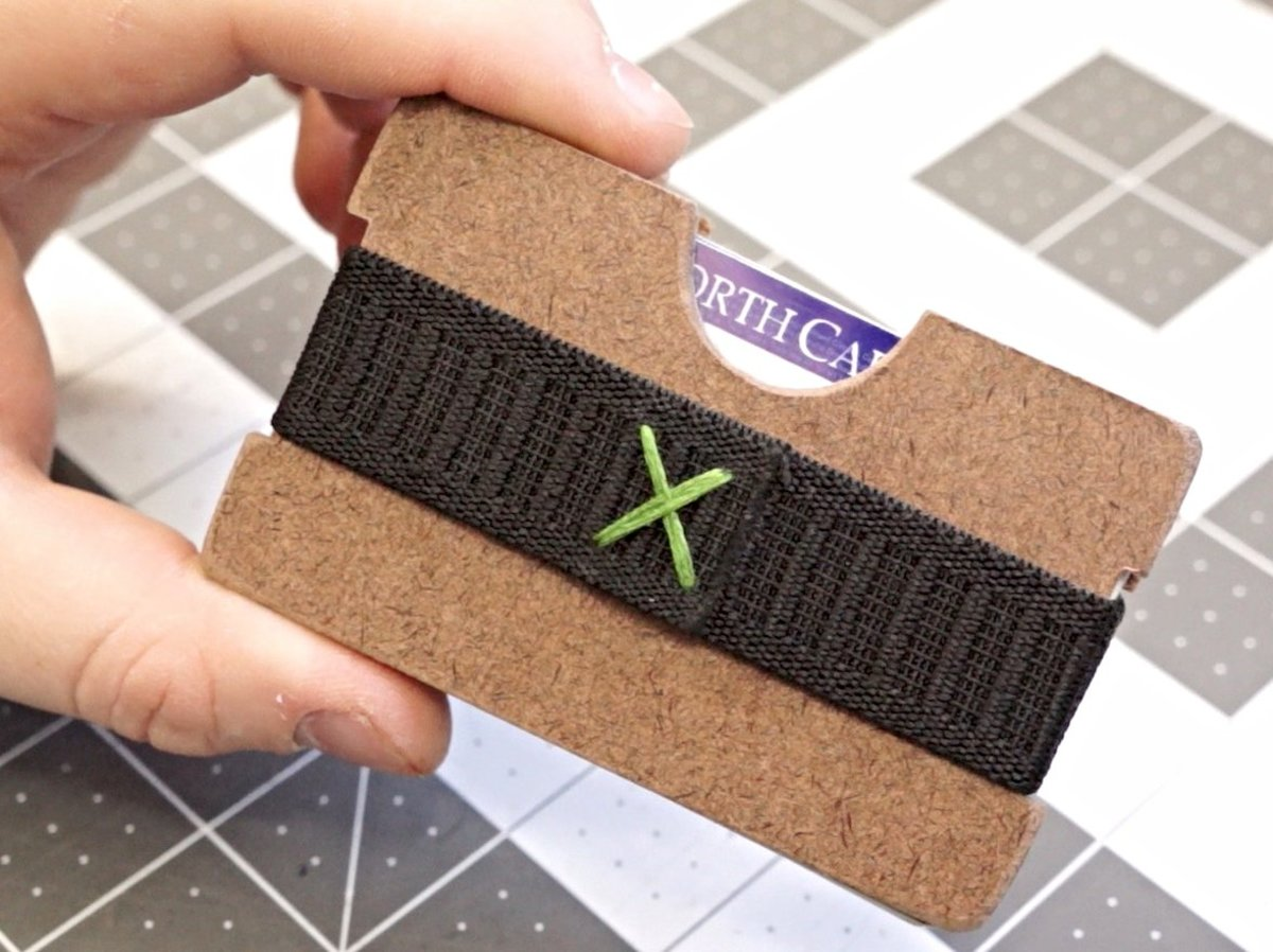 Minimalist wallets are the newest fashion accessory for guys and this DIY version would make a neat gift.