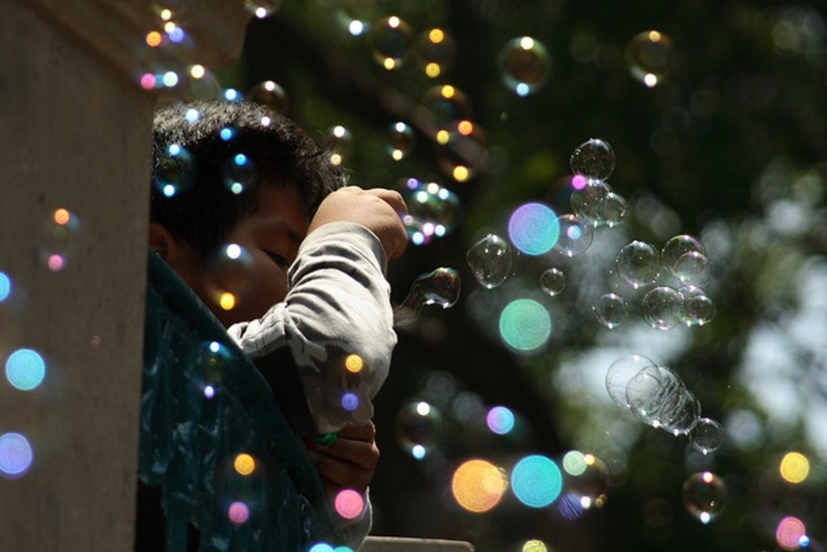 Bubbles make a great party favor. I have never met a 2 year old who doesn't like bubbles!