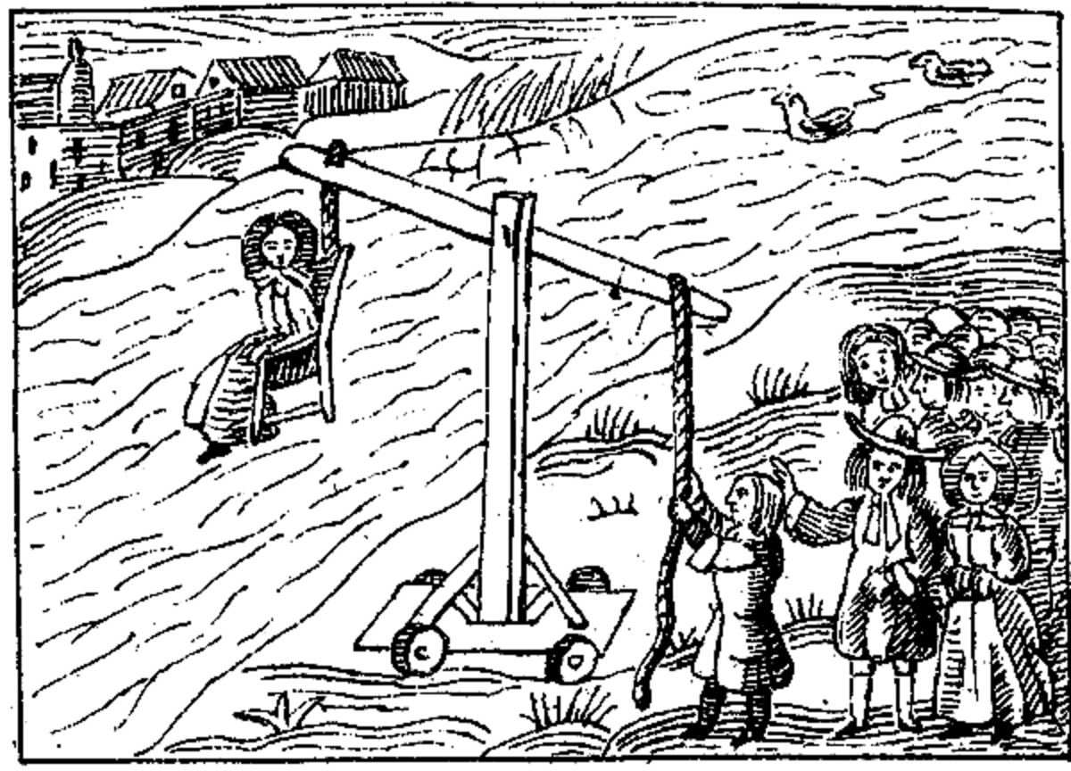 Dunking Stool - Held underwater as punishment for being a public nusiance.