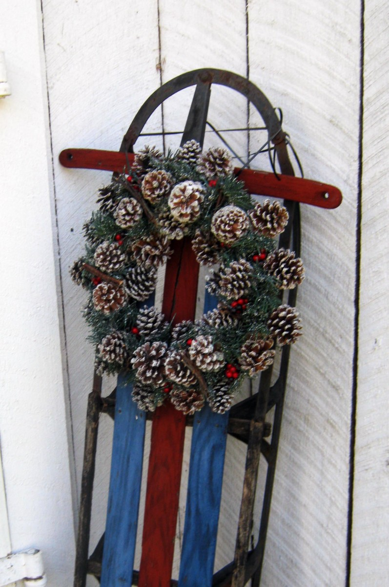Rustic Outdoor Decoration