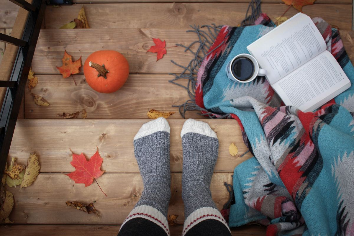 Fall is all about getting cozy with a good book in hand.