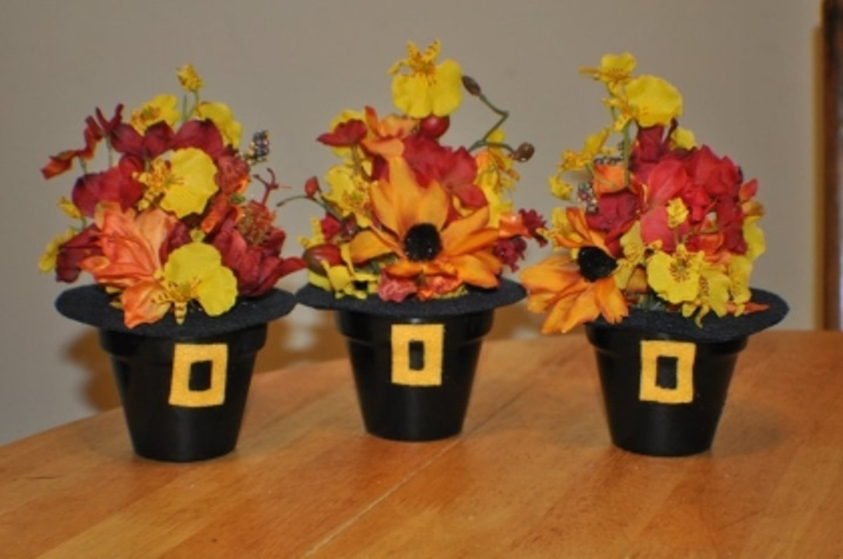 Adorable DIY Thanksgiving centerpiece decorations