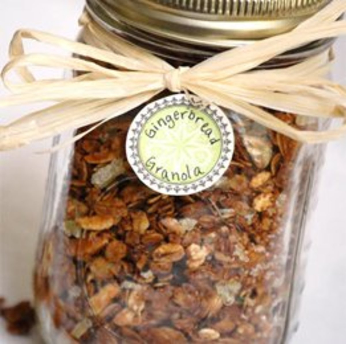 Pumpkin Spice Granola And/Or Gingerbread Granola in a Jar