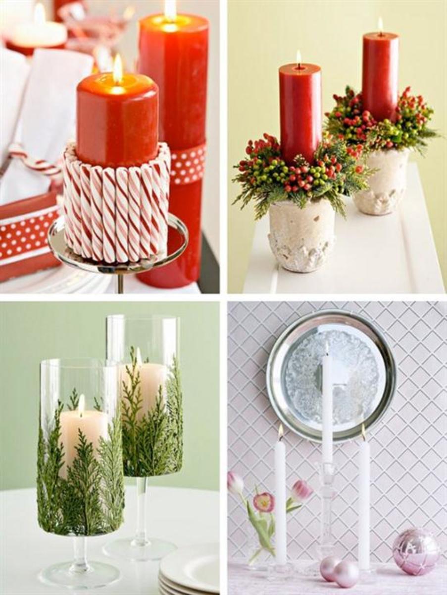 Festive Candlesticks